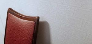 壁紙と椅子