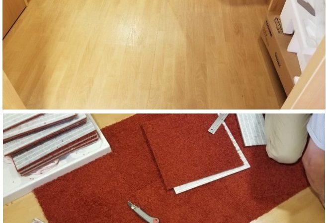 敷き詰めカーペットとタイルカーペット
