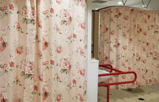 介護施設カーテン