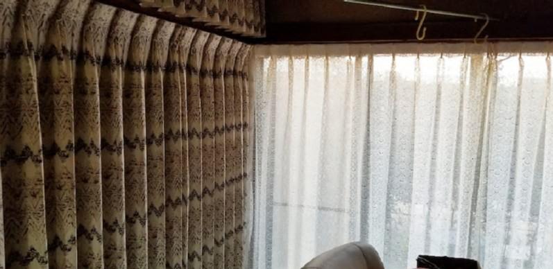 襖や障子をカーテンに