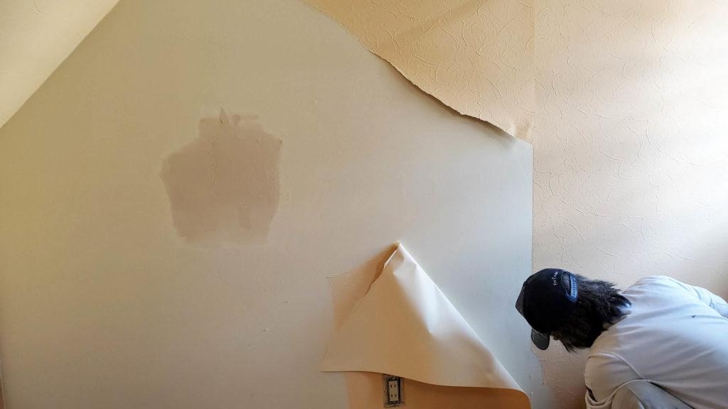 壁紙 下地作り