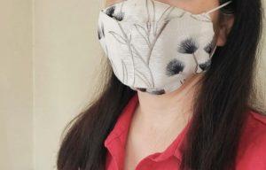 箱型マスク着画