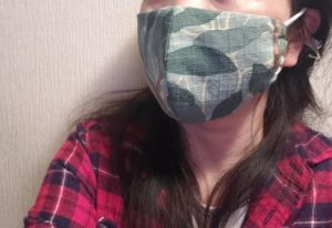 立体マスク着画