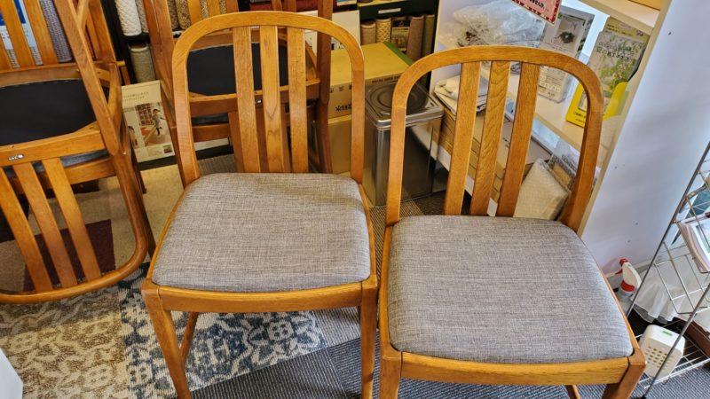 椅子の生地張替え